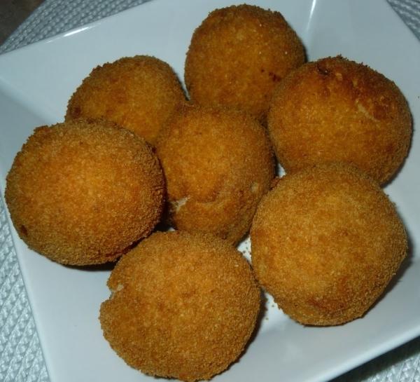Albondigas de patata y carne