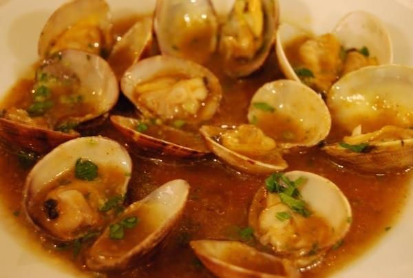 Almejas a las salsas