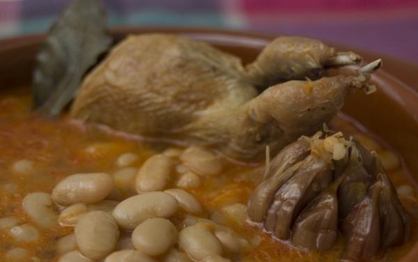 Alubias con codornices the cook monkeys - Alubias con codornices ...