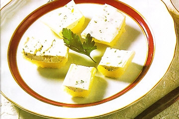 Apio con queso