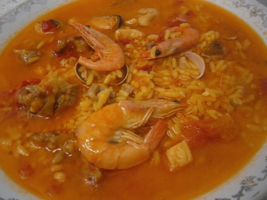 Arroz caldoso en Thermomix