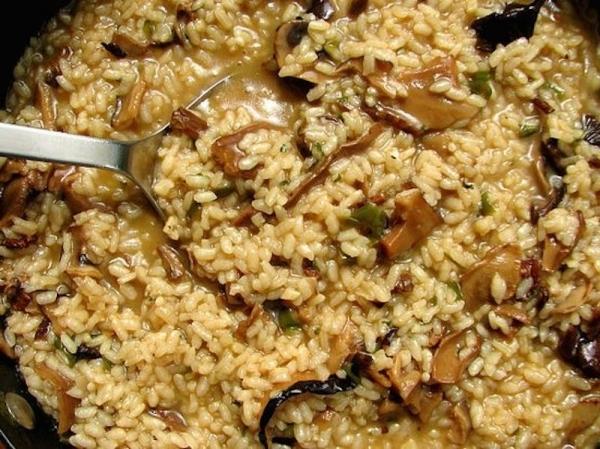 Arroz con setas y jam n the cook monkeys - Arroz con alcachofas y jamon ...