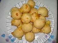 Bolitas de harina de maiz