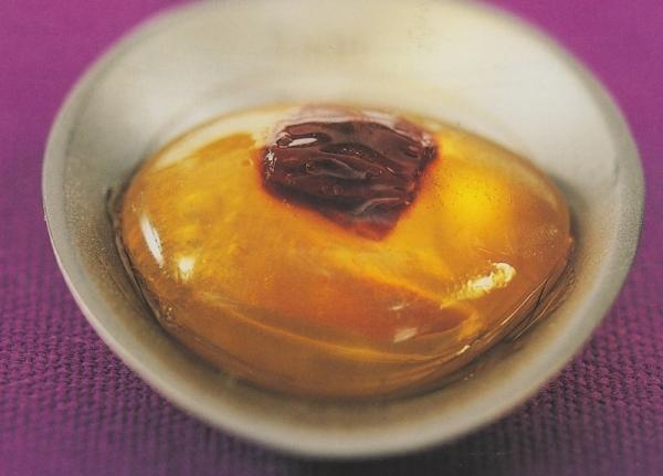 Bombones helados de aceite oliva