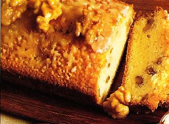 Cake de naranja y nueces