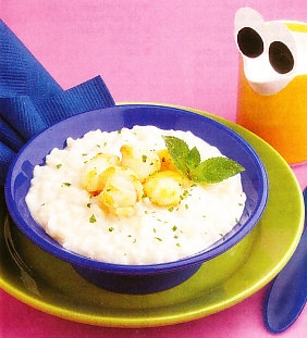 Caldereta de rape y arroz