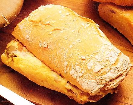 Chapata con setas the cook monkeys for Cuchara para consome