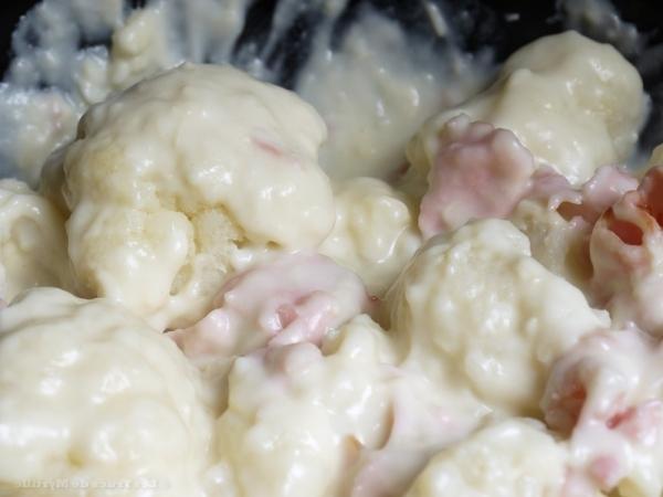 Coliflor con mayonesa