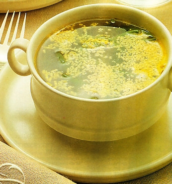 Consomé mimosa