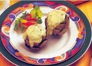 Corazones de alcachofa con requesón