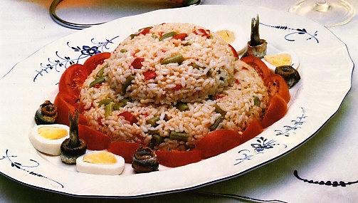 Ensalada de arroz y jud as verdes the cook monkeys - Tiempo coccion judias verdes ...