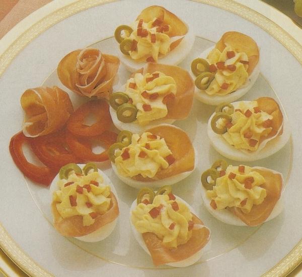 Flores de huevo