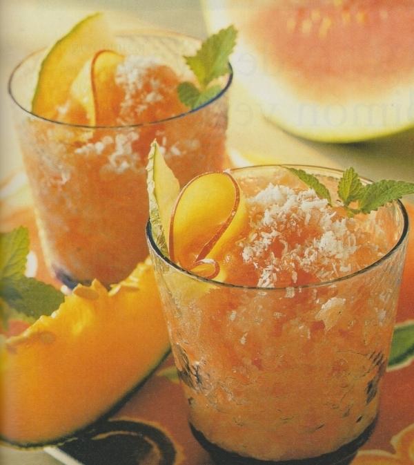 Granizado de frutas mixtas
