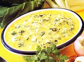 Gratinado de patatas y acelgas the cook monkeys - Gratinado de patata ...