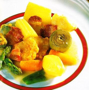Menestra de verduras y hortalizas