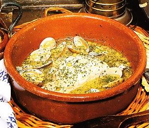 Merluza en salsa verde con almejas the cook monkeys - Almejas con salsa verde ...