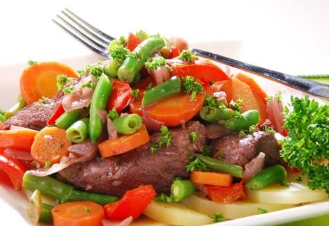 Parrillada de carne y verduras the cook monkeys for Parrillada verduras