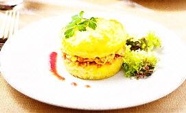 Pastel de patata y arroz