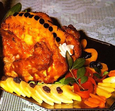 pavo asado relleno al estilo andaluz the cook monkeys