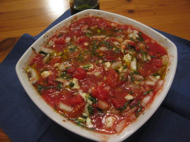 Salsa de tomate india