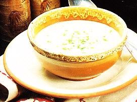 Sopa fría de espárragos