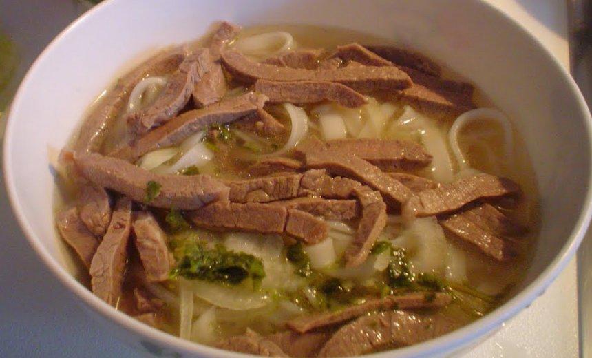 Sopa vietnamita Pho Ga