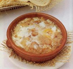 Sopas de ajo al estilo vasco