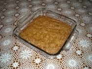 Tarta de dátiles con salsa de caramelo