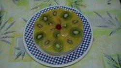Tartaletas de piña y kiwi