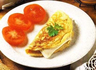 Tortilla con queso Burgo de Arias
