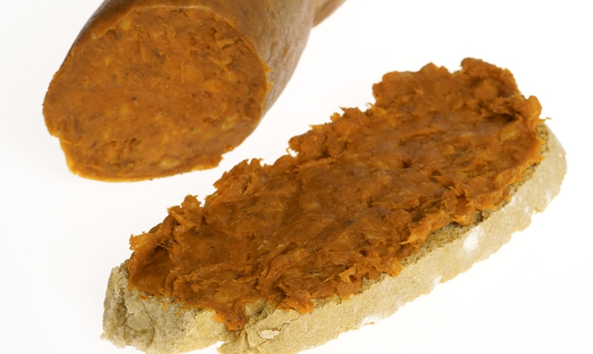 Tostadas de sobrasada con miel