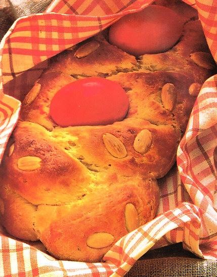 Trenza griega de Pascua