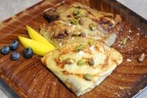 Abanicos de patata y queso