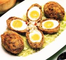 Albóndigas de huevos duros