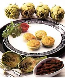 Alcachofas a la crema de ajo