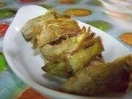 Alcachofas con naranja