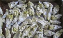 Alcachofas en salsa blanca