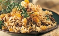Arroz pilaf con frutos secos