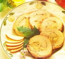 Asado de cerdo con manzanas
