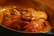 Asado de cerdo marinado