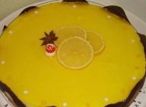 Bavarois de limón en Thermomix
