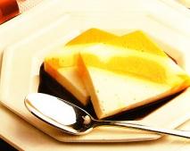 Bavarois de mango