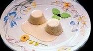 Biscuit de higos con salsa de almendras