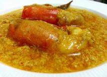 Bogavante con salsa de mostaza