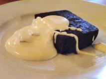 Budin de castañas con chocolate