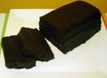 Budín de chocolate con chocolate
