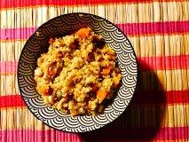 Bulgur con verduras y pollo