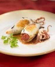 Calamares rellenos al estilo Costa Brava