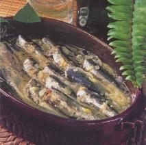 Caldereta de sardinas frescas