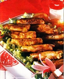 Canelones fritos